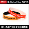 Dual Layer Custom Silicone Wristbands