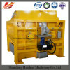 Double Horizontal Shaft Concrete Mixer, Js750 Concrete Mixer with Lift