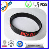 Promotional Debossed Ink Filled Silicone Bracelet