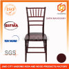 Pass Test ANSI Bifma Mahogany Resin Chiavari Chair