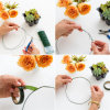 Galvanized Treatment and Binding Wire Functaion Florist Wire