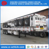 40FT Container 3 Axle Flatbed Semi Trailer