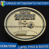 Relaible China Badge Factory Accept OEM Metal Badges