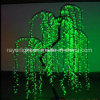 2.5m Artificial Tree Light Commercial Display LED White Willow Tree Light