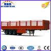 3 Axle Stake/Basket Semi Truck Trailer for Transportation