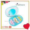3 Compartments Medication Pocket Plastic Pill Box Three Compartments Pill Organizer Case