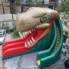 Giant Commercial Inflatable Dinosaur Slide for Rental