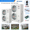 Amb. -25c Winter Floor Home Heating System 12kw/19kw/35kw R407c 55c Hot Water Monobloc Auto-Defrost Evi Low Temp. Heat Pump