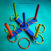 Intelligence Ring Toss Toy Set for Children