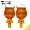 Diamoned Solar Warning Light