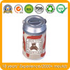 Food Grade Round Milk Tin Box, Metal Food Box
