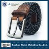 Synthetic Fibroin Elastic Braided Belts for Fashion Unisex Belts