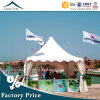 High Quality Outdoor Exhibition Pagoda Tent with Wooden Flooring