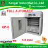 CE Approved Automatic Chicken Egg Incubator Solar Egg Incubator for 528 Eggs