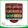 Whosale 50mm Christmas Glitter Ribbon for Holiday Decoration