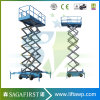 6m-12m 300kg-500kg Hydraulic Electric Scissor Lift Lifting Platform