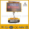 OEM Solar Powered Mobile LED Traffic Road Sign Vms Trailer
