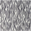 Hot Sale Zebra Pattern PU Artifical Synthetic Leather for Cloth (CF019120E)