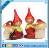 Resin Pretty Girl with The Mushroom Home Decoration