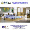 China Bedroom Furniture King Size Bed with PU Leather (703A#)
