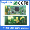 Toplink 11AC 2.4G/5g Dual Band 433Mbps Embedded USB Wireless Module for Android TV Box Transmitter and Receiver