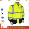 Hi Vis Yellow Safety Flourescent Men Bomber Jacket