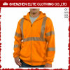 Custom Made Hi Vis Orange Work Safety Hoodies Jacket (ELTHJC-401)
