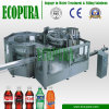 Automatic 3-in-1 Soda Beverage Filling Line / Bottling Plant