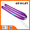 Polyester Lifting Round Sling in Purple Color (En1492-2)