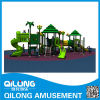 Happy Child Outdoor Amusement Park Equipment with Slides (QL14-064A)