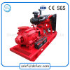 High Pressure Horizontal Multistage Centrifugal Pump Driven by Diesel Engine