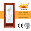 Low Price Toilet Aluminum Doors with Shutter Window (SC-AAD028)