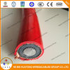 8.7/15kv 18/30kv N2xsy/Na2xsy Cu or Al/XLPE/Cws/Cts/PVC Red Color Power Cable