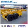 20FT Skeletal Frame Transport Chassis Semi Trailer for 20FT Container