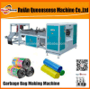Plastic Bag on Roll Machine Plastic Automatic Rolling Bag Machine