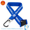 Custom Flat Polyester Printed Lanyard with Climbing Buckle
