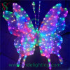 New Motif Light LED 3D Butterfly Light for Christmas Decoration