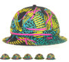 Fashion Warm Winter Wool and Cotton Sublimation Printing Bucket Hat