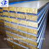 Rock Wool Insulated Steel Metal Surface Sandwich Panel Price