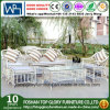 Rattan Aluminum Frame White Color Sectional Sofa Outdoor Garden Furniture (TG-006)