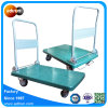 Folding and Lockable Heavy Duty Flatbed Cart