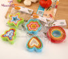 Food Grade Plastic PP Cookie Cutter (Star Heart Little-man Flower)