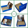 Blue Display Box with Insert for Shipping