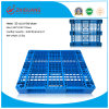 1100*1100*170mm HDPE Plastic Pallet 1.5t Rack Load Heavy Duty Plastic Tray Forklift Pallet with 7 Steel for Warehouse Products