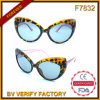 F7832 Fox Eye Shaped Frame Inexpensive Fashion Sun Eyeglasses