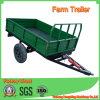 Two Tyres Single Axle Farm Trailer in 3tons