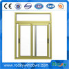 Aluminium Alloy Frame Horizontal Sliding Sash Glass Window