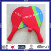 Factory Price OEM Logo Promotion Wood Beach Racket
