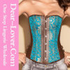 Sexy Plus Size Steel Boned Corset