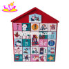 Customize Wooden Christmas Calendar for Kids Decoration W09f007